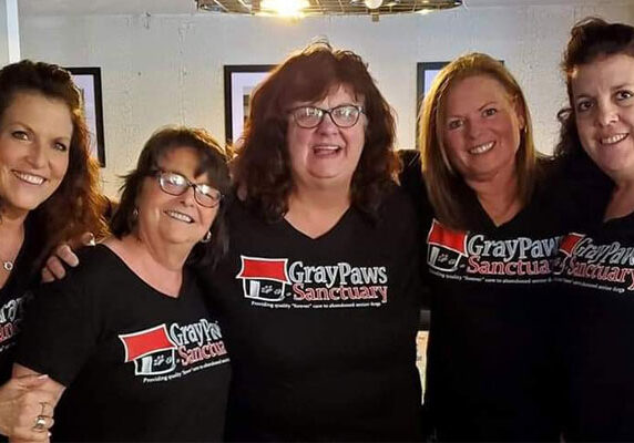 Support Gray Paws by helping with fundraisers